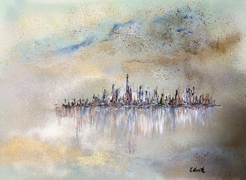 Elisa Cook - Intangible Golden Mist