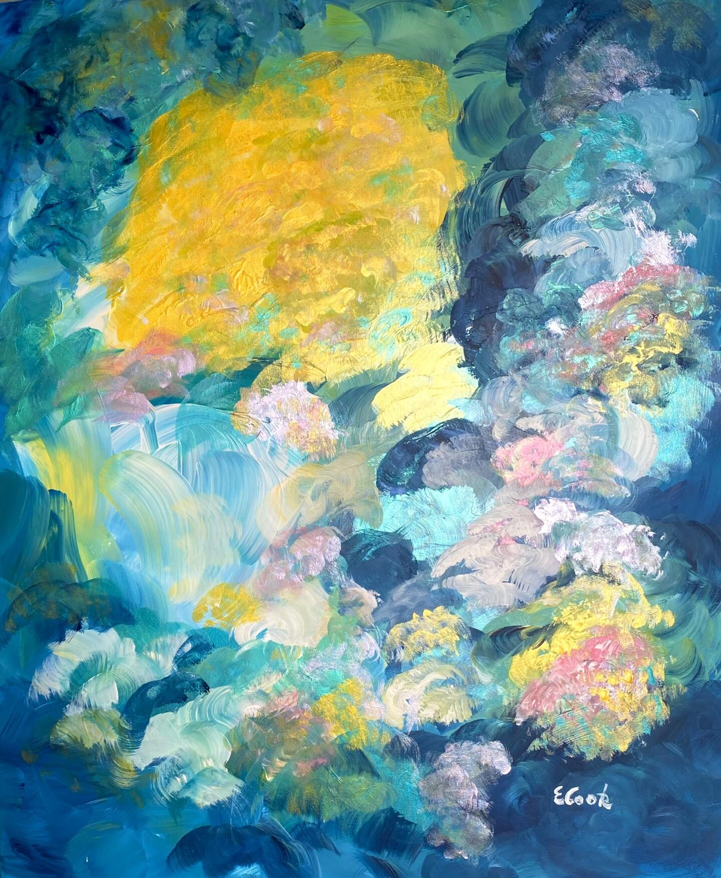 Elisa Cook - Shimmering Flowers