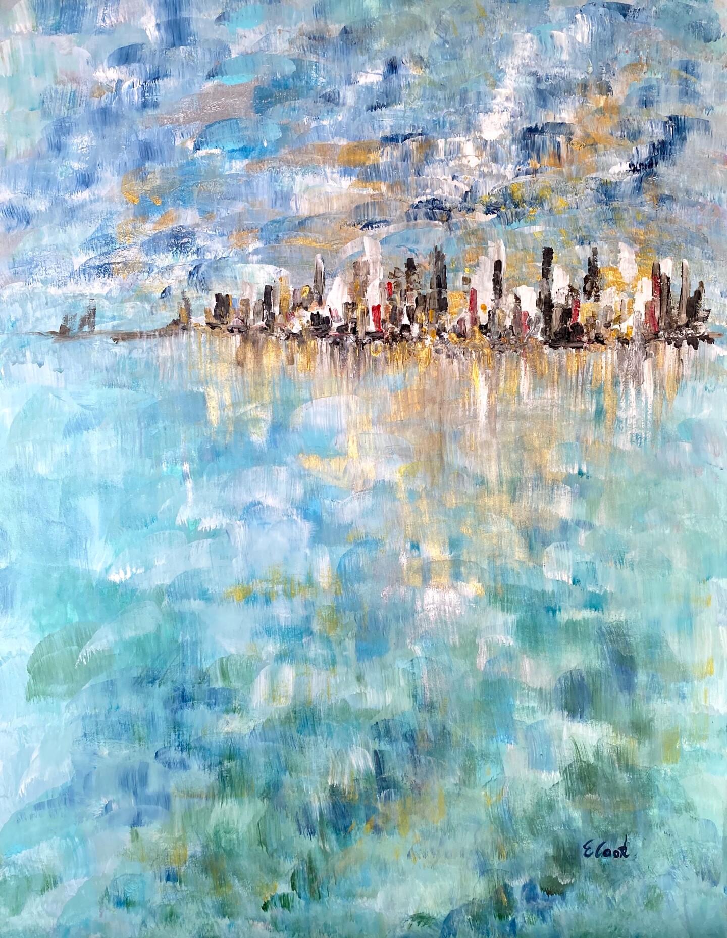 Elisa Cook - Blue Mosaic