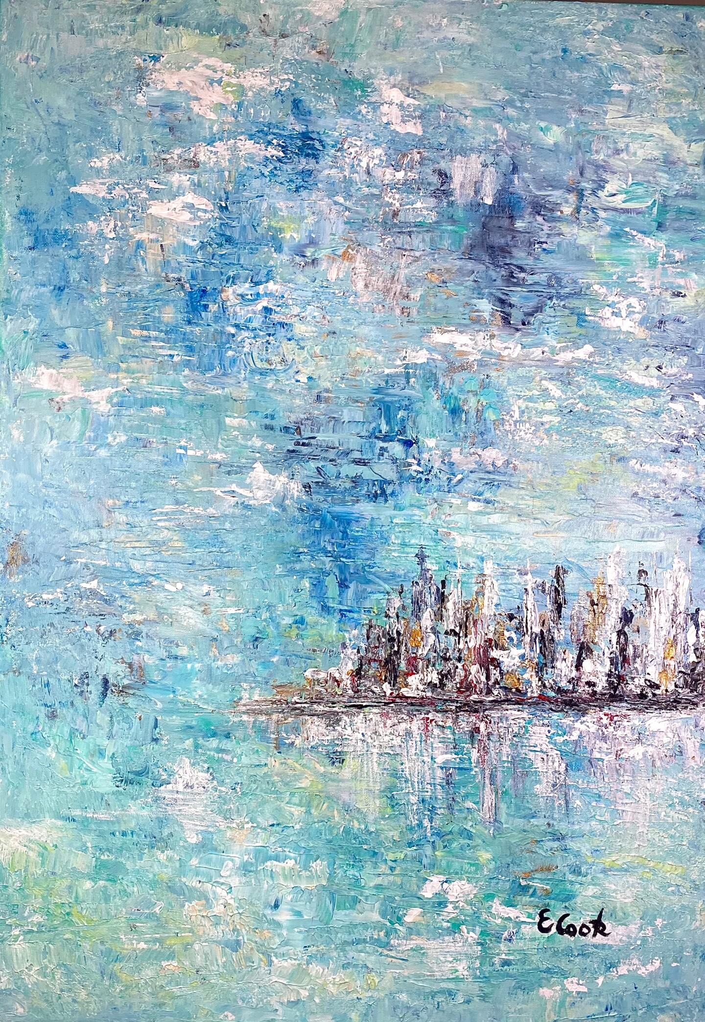Elisa Cook - Aquamarine Seascape