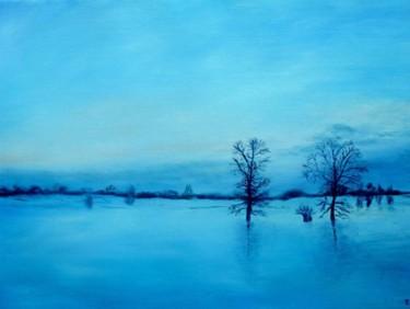 Le bleu de l'hiver